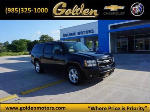 2009 Chevrolet Suburban for sale at GOLDEN MOTORS in Cut Off LA