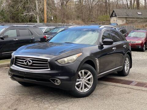 2012 Infiniti FX35 for sale at AMA Auto Sales LLC in Ringwood NJ