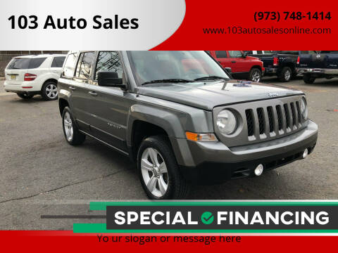 2013 Jeep Patriot for sale at 103 Auto Sales in Bloomfield NJ