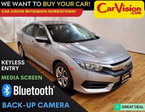 2017 Honda Civic for sale at Car Vision Mitsubishi Norristown in Trooper PA