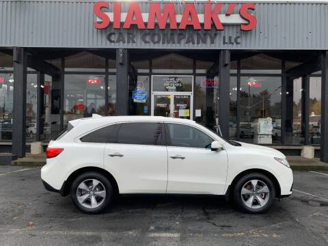 2014 Acura MDX for sale at Siamak's Car Company llc in Salem OR