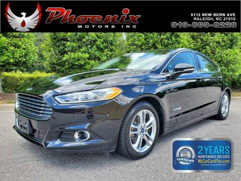 2016 Ford Fusion Hybrid for sale at Phoenix Motors Inc in Raleigh NC