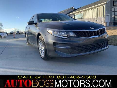 2018 Kia Optima for sale at Auto Boss in Woodscross UT