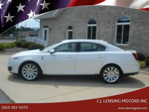 2011 Lincoln MKS for sale at C.J. Lensing Motors Inc in Decorah IA