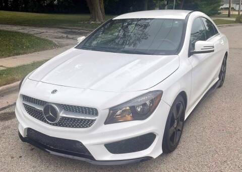 2018 Mercedes-Benz CLA for sale at Waukeshas Best Used Cars in Waukesha WI