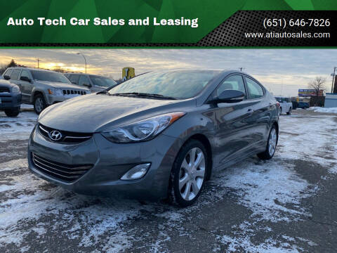 2013 Hyundai Elantra for sale at Auto Tech Car Sales and Leasing in Saint Paul MN