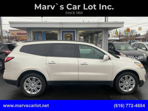 2013 Chevrolet Traverse for sale at Marv`s Car Lot Inc. in Zeeland MI