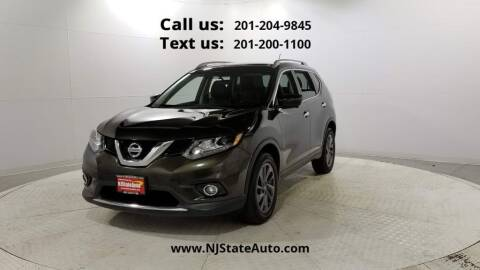 2016 Nissan Rogue for sale at NJ State Auto Used Cars in Jersey City NJ