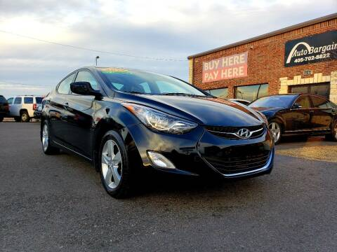 2012 Hyundai Elantra for sale at AUTO BARGAIN, INC. #2 in Oklahoma City OK
