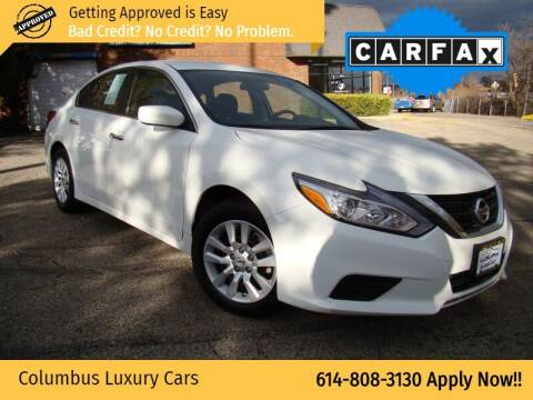 2018 Nissan Altima for sale at Columbus Luxury Cars in Columbus OH