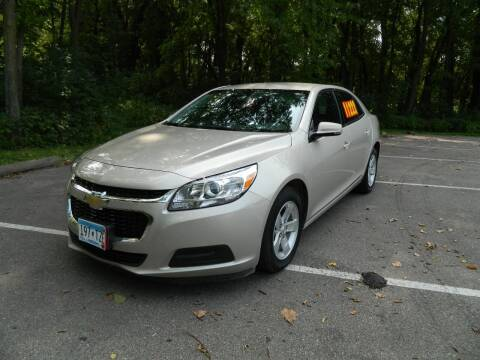 2016 Chevrolet Malibu Limited for sale at Triple R Sales in Lake City MN