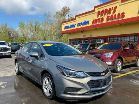 2017 Chevrolet Cruze for sale at Popas Auto Sales in Detroit MI