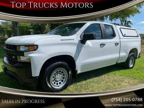 2019 Chevrolet Silverado 1500 for sale at Top Trucks Motors in Pompano Beach FL