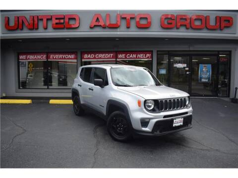 2020 Jeep Renegade for sale at United Auto Group in Putnam CT