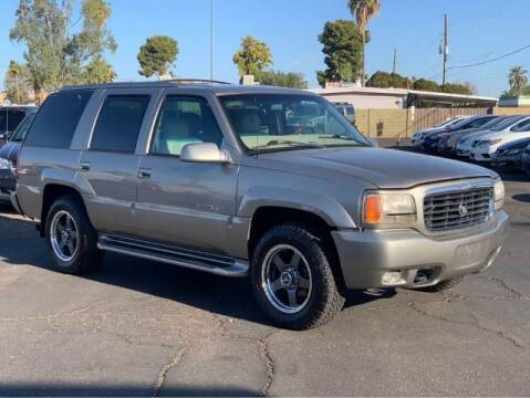 2000 Cadillac Escalade for sale at Brown & Brown Wholesale in Mesa AZ
