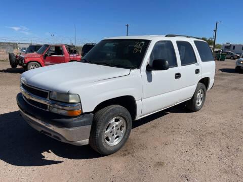 2004 Chevrolet Tahoe for sale at PYRAMID MOTORS in Pueblo CO