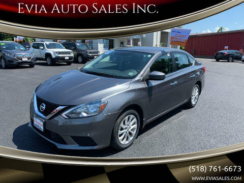2018 Nissan Sentra for sale at Evia Auto Sales Inc. in Glens Falls NY