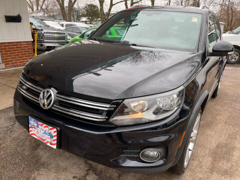 2016 Volkswagen Tiguan for sale at New Wheels in Glendale Heights IL