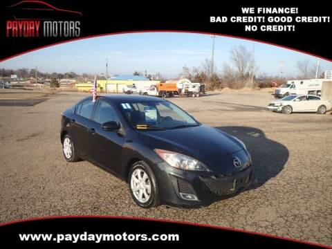2011 Mazda MAZDA3 for sale at Payday Motors in Wichita And Topeka KS