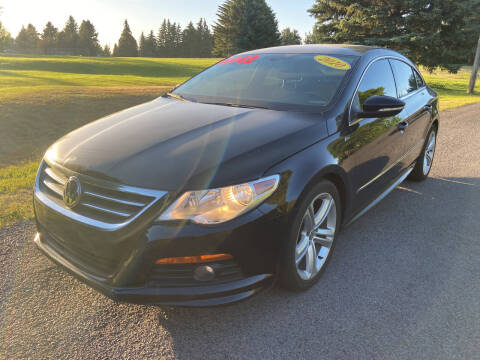 2010 Volkswagen CC for sale at BELOW BOOK AUTO SALES in Idaho Falls ID