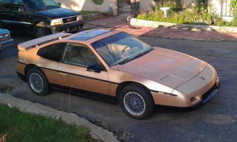 1986 Pontiac Fiero for sale at Classic Car Deals in Cadillac MI