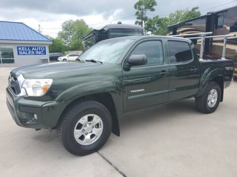 2014 Toyota Tacoma for sale at Kell Auto Sales, Inc - Grace Street in Wichita Falls TX