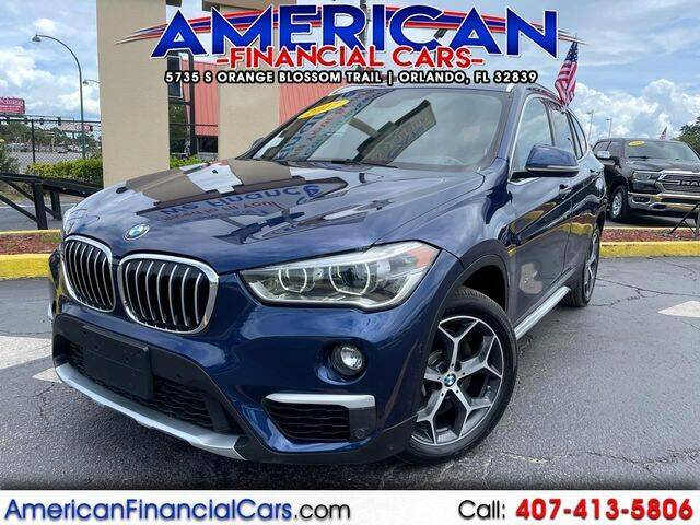 2017 BMW X1 for sale at American Financial Cars in Orlando FL