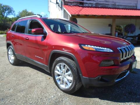 2016 Jeep Cherokee for sale at Wimett Trading Company in Leicester VT