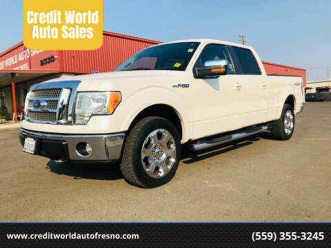 2009 Ford F-150 for sale at Credit World Auto Sales in Fresno CA