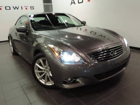 2012 Infiniti G37 Convertible for sale at AutoWits in Scottsdale AZ