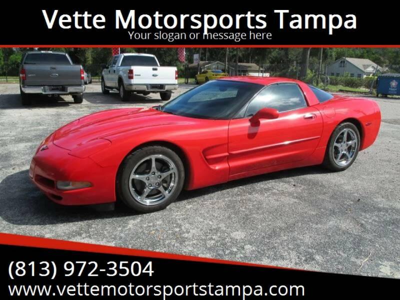 1999 Chevrolet Corvette for sale at Auto Liquidators of Tampa in Tampa FL