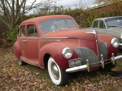 1939 Lincoln Zephyr for sale at Classic Car Deals in Cadillac MI