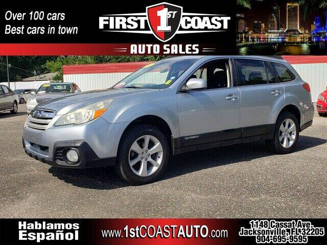 2013 Subaru Outback for sale at 1st Coast Auto -Cassat Avenue in Jacksonville FL