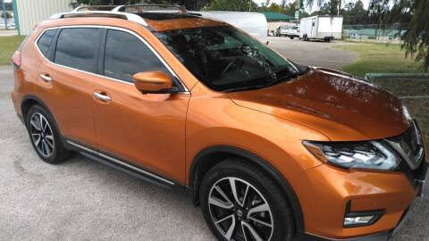 2017 Nissan Rogue for sale at Haigler Motors Inc in Tyler TX