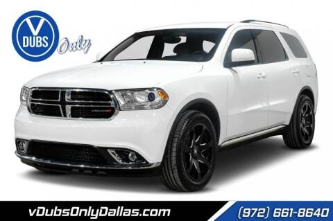 2018 Dodge Durango for sale at VDUBS ONLY in Dallas TX