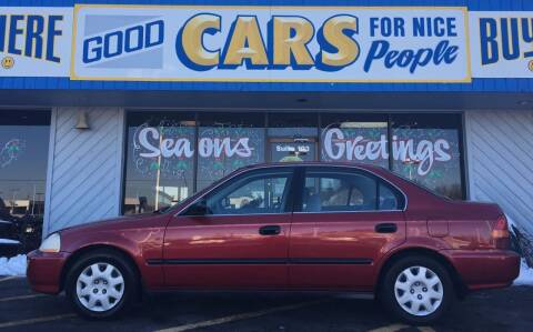 1998 Honda Civic for sale at Good Cars 4 Nice People in Omaha NE