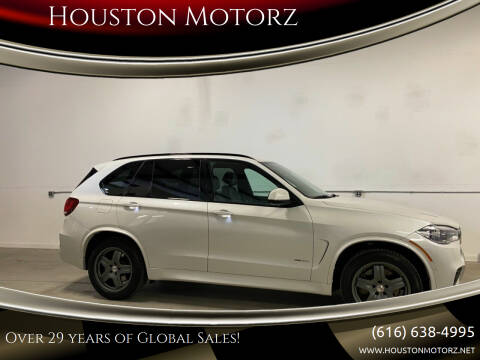 2018 BMW X5 for sale at Houston Motorz in Nunica MI