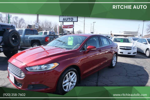 2014 Ford Fusion for sale at Ritchie Auto in Appleton WI