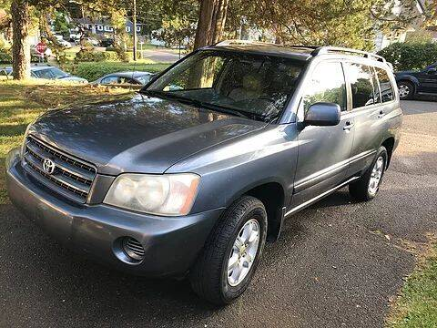 2003 Toyota Highlander for sale at Premium Motors in Rahway NJ