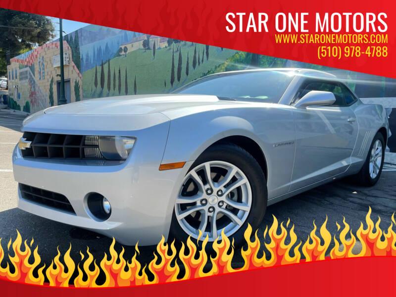 2013 Chevrolet Camaro for sale at Star One Motors in Hayward CA