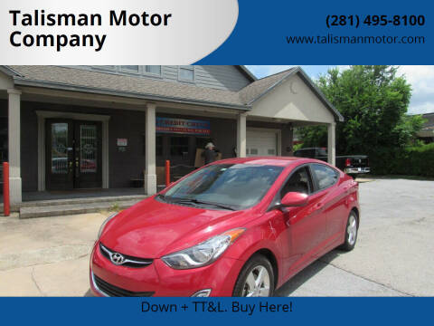 2013 Hyundai Elantra for sale at Don Jacobson Automobiles in Houston TX