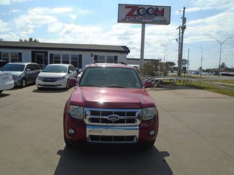 2009 Ford Escape for sale at Zoom Auto Sales in Oklahoma City OK