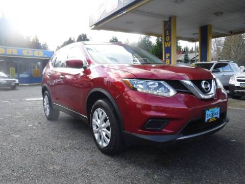 2016 Nissan Rogue for sale at Brooks Motor Company, Inc in Milwaukie OR