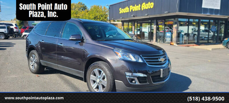 2017 Chevrolet Traverse for sale at South Point Auto Plaza, Inc. in Albany NY