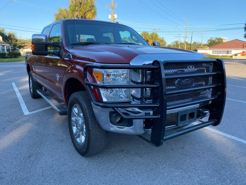 2014 Ford F-250 Super Duty for sale at LUXURY AUTO MALL in Tampa FL