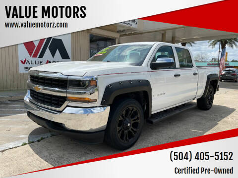 2017 Chevrolet Silverado 1500 for sale at VALUE MOTORS in Kenner LA