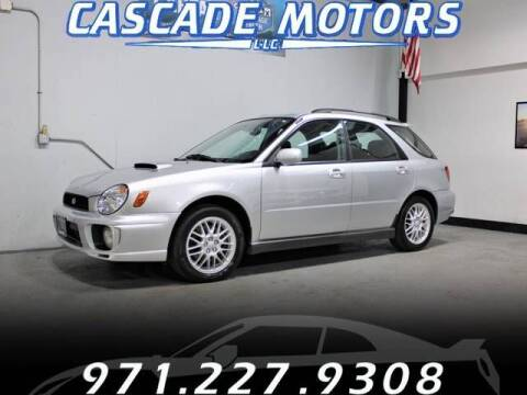 2003 Subaru Impreza for sale at Cascade Motors in Portland OR