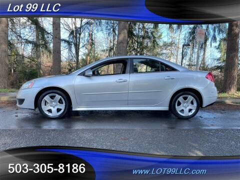 2010 Pontiac G6 for sale at LOT 99 LLC in Milwaukie OR