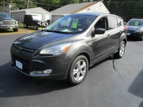 2016 Ford Escape for sale at Route 4 Motors INC in Epsom NH