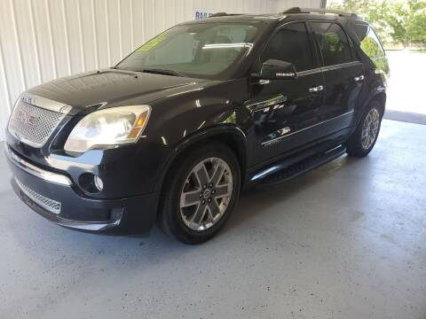 2011 GMC Acadia for sale at Bailey Family Auto Sales in Lincoln AR